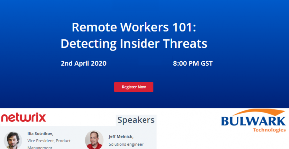 WEBINAR – Detecting Insider Threats with Netwrix!