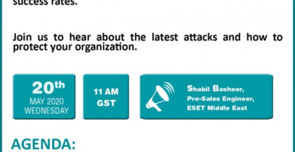 ESET End-Customer Webinar Invitation-20th May 2020